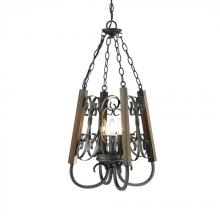 Golden 3281-3P BI - 3 Light Pendant
